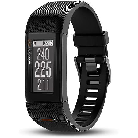 Garmin Approach X10, Lightweight GPS Golf Band, Black