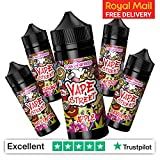 Vape Street E-Liquid 5 x 50ml Mix Fruit Vape Bundle | Apple |