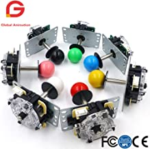 2 PCS Copy Sanwa 5Pin 8Way Arcade Joystick Circuit Board for Arcade Game Console High Quality Multi Color