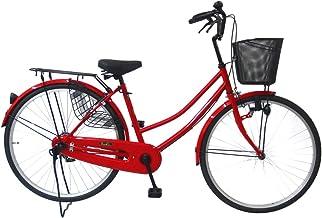 C.Dream(シードリーム) タウンサイクル AL61 26インチ自転車 シティサイクル レッド 100%組立済み発送