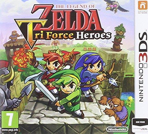 The Legend Of Zelda : Tri Force Heroes - [Edizione: Francia]