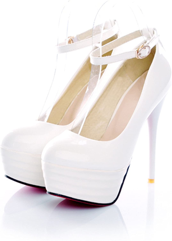 High Heels Women shoes White Bridal shoes Sexy Ultra High Heels Night Club Woman Platform Heels Ladies Pumps Big Size 42