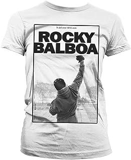 Rocky Oficialmente Licenciado Balboa - It Ain't Over Mujer Camiseta