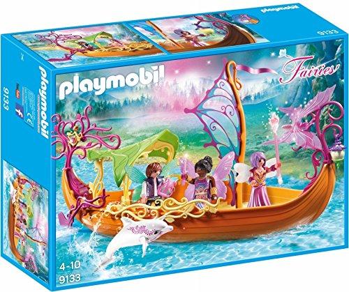 Playmobil- Autre Bateau des fées enchanté, 9133, Norme