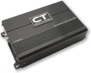 CT Sounds CT-80.4D Full-Range Class D 4 Channel Car Audio Amplifier, 440 Watts RMS
