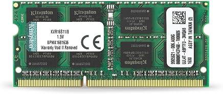 $42 Get Kingston Technology 8GB 1600MHz DDR3 Non-ECC CL11 SODIMM PC Memory (KVR16S11/8)