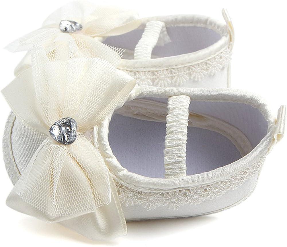 Aorme Christening Shoes Infant Toddler Baptism Shoes Sneaker for Baby Girls