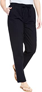Woman Within Women's Plus Size Seersucker Pant