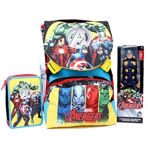 Zaino School Pack C/Thor Assemble Team Avenger Marvel
