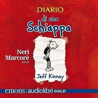 Diario di una schiappa audiobook cover art