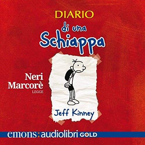 Diario di una schiappa audiobook cover art