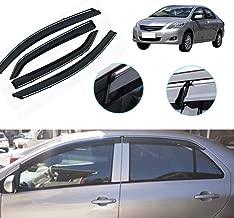 Maite Side Window Deflector for Toyota Vios belta sedan XP90 2008-2013 Original Window Visors Sun Rain Guard 4Pcs