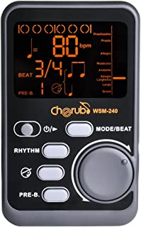 Cherub WSM-240 Portable Instruments Electronic Metronome with Tone Generator
