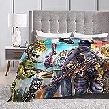 yeeatz Fortnite Manta cálida de felpa suave para silla/cama/sofá/sofá 80 x 60 pulgadas
