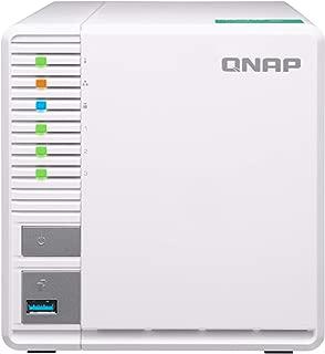 QNAP(キューナップ)TS-328 クアッドコア1.4 GHz CPU 2GBメモリ 3ベイ DTCP-IP/DLNA対応 RAID5対応で容量効率と信頼性の向上を実現