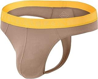 ZONBAILON Mens Thong Underwear Sexy Man G-String Butt-Flaunting Tongs Undie T-Back Underwears