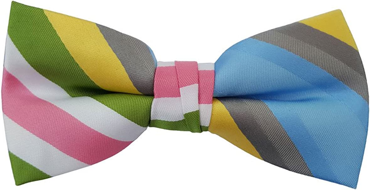 Born to Love Boys, Baby, Toddler Pre Tied Adjustable Patterned Bow Tie, Dots, Stripes, Checkered, Plaid