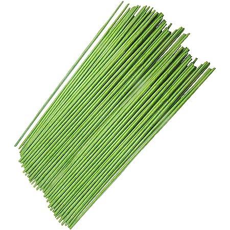 Arreglos Florales y Manualidades 0,7mm de Grosor - 35 Metros Alambre de Flores Alambre Floral Verde para Guirnaldas Pack de 6 Belle Vous Alambre de Floristeria Calibre 22