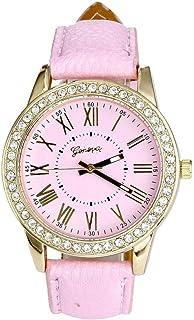 Pocciol Watch,Rhinestone Quartz Wrist Watch Vogue Women Ladies Fashion Crystal Dial Bracelet Watches