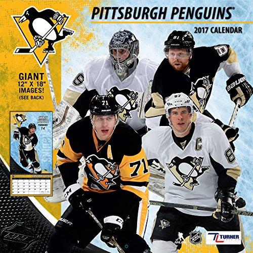 "Turner Licensing Sport 2017 Pittsburgh Penguins Team Wall Calendar, 12""X12"" (17998011953)"