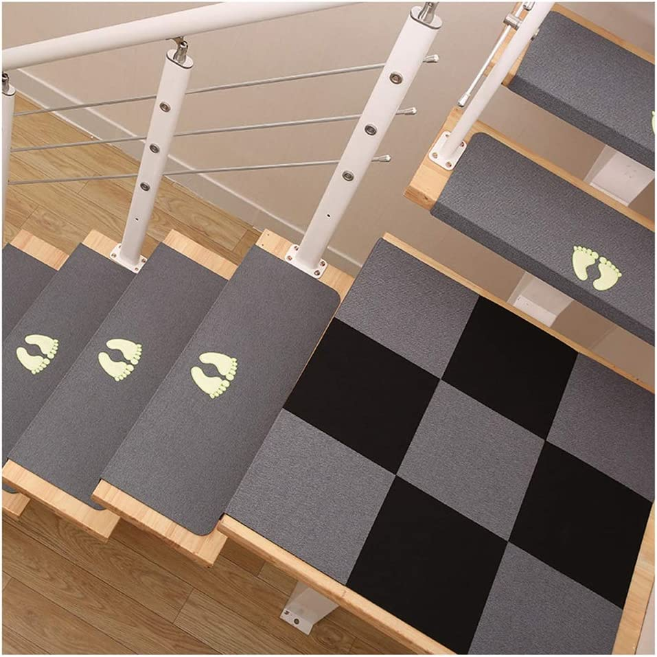 DIT Stair Tread Online limited product Carpets for Stairs Steps Treads Mats 2pcs New mail order