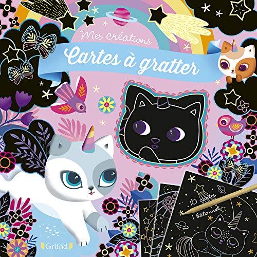 Cartes à gratter : Chatons magiques – Pochette avec 10 cartes à gratter – À partir de 6 ans