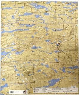 McKenzie BWCA/Quetico Canoe Map Number 3