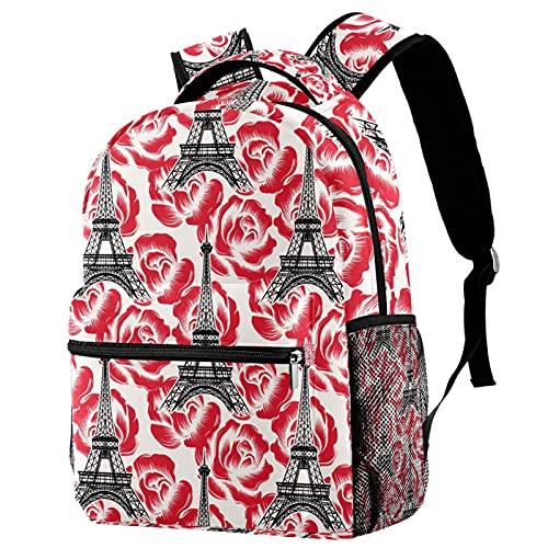 Mochila de escuela de princesa, mochila para niñas y niños, bolsa de...