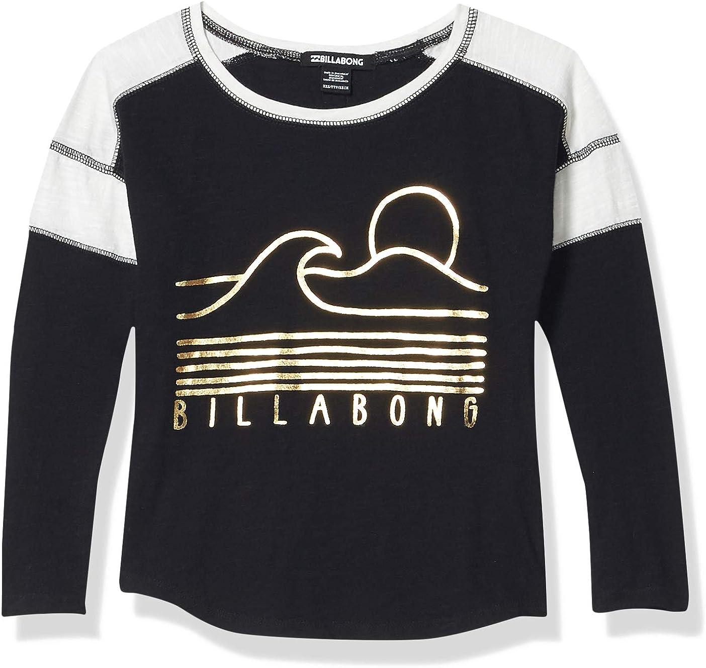 Billabong Big Game Time - Camiseta de manga larga para niña ...