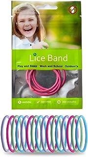 ECOSHIELD Elastic Lice Repellent Hair Bands