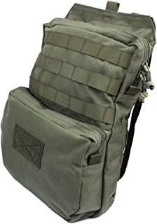 LytHarvest Tactical Molle Hydration Carrier (Bladder is not Included), Tactical Mobility 3-Liter Hydration Pack for Hiking, Biking, Climbing