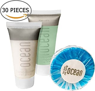 Ocean Collection BNB Amenity Travel Bath and Shower Set (30 Piece)