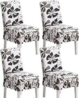 skirted dining chair pads