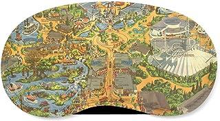 Disneyland Vintage Map Sleeping Mask - Sleeping Mask