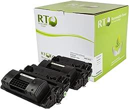 Renewable Toner Compatible Toner Cartridge High Yield Replacement for HP 81X CF281X LaserJet M605DN M630f M630h M630z MFP (Black, 2-Pack)