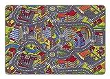 misento Kinderteppich Straßenteppich Spielunterlage Kinderzimmer Schadstoff geprüft 140 x 200 cm