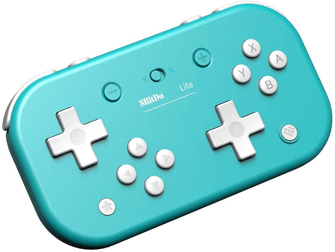 ZYYIN 8Bitdo Lite Bluetooth Gamepad para Nintendo Switch Lite, Controlador de Juego inalámbrico Bluetooth con función de Obturador automático, Consola de Juegos para Android iOS Windows (Azul): Amazon.es: Hogar