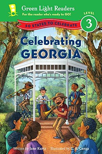 Celebrating Georgia: 50 States to Celebrate (Green Light Readers Level 3) (English Edition)