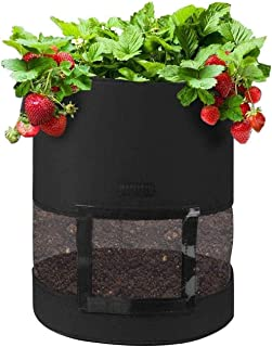 Potato Grow Bags Plant Grow Bags with 360°Visualization Area Grow Containers Garden Growing Planter Bags for Planting Vege...
