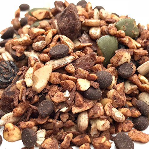 ProMix: Very Finely Chopped Mixed Nuts & Seeds with Dried Fruits (750g) Healthy Trail Mix, Gluten Free, Vegan (Peanut & Chocolate)