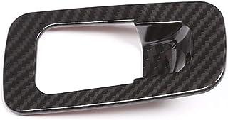 ABS ألياف الكربون الداخلية ، لمرسيدس بنز الفئة C W205 / GLC X253 2015-2018 ، سيارة ألياف الكربون ABS غطاء فرملة مطاطية للس...