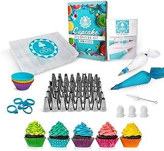 D.D.S. SUPPLIES - NEW!!! 108pc Cake Decorating Supplies Kit, 48 Piping Tips, Piping Bags,Baking Supplies,Cupcake Decoratin...
