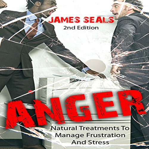 Anger audiobook cover art