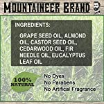 Beard Oil by Mountaineer Brand (4 fl oz total) | Premium 100% Natural Beard Conditioner (WV Timber | Two-Ounce 2 Pack) 6
