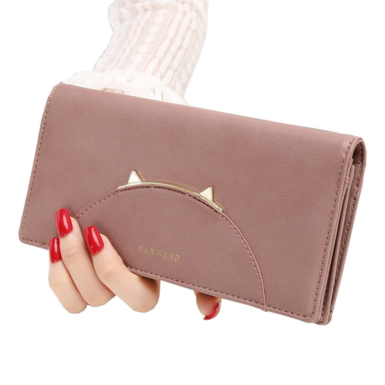 長財布 レディース 大容量 多機能 人気 おしゃれ 大きく開く カード収納 小銭入れ 写真入れ 軽量 プレゼント ウォレット 無地 19.2*9.5*2.2cm 全5色