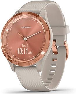 comprar comparacion Garmin Vívomove 3S Sport Reloj Inteligente, Unisex Adulto, Rose Gold/Tundra, Small