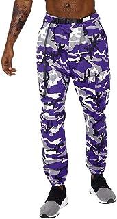 Men's Casual Fleece Sweatpants Cotton Active Elastic Pocket Pants Joggers Sweatpants