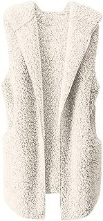 Gorgeous Women Coat KIKOY Winter Warm Outerwear Hoodie Faux Fleece Coat Outwear