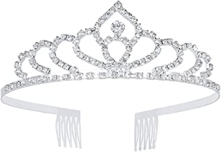 Wedding Tiara Headband Bridal Princess Queen Crown Crystal Rhinestone Party Jewelry