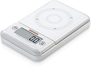 Soehnle 66150 Balance Electronique Ultra 2 Blanc Plateau Transparent 500 g / 0,1 g